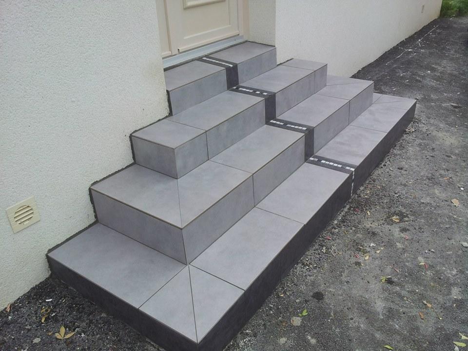 Escalier Exterieur Hocdee Agencement Carrelage Et Mosaique